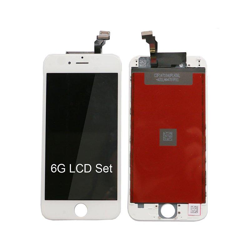 Cheap Price Digitizer Touch Screen For Iphone 6G 4.7 Inch LCD White Color