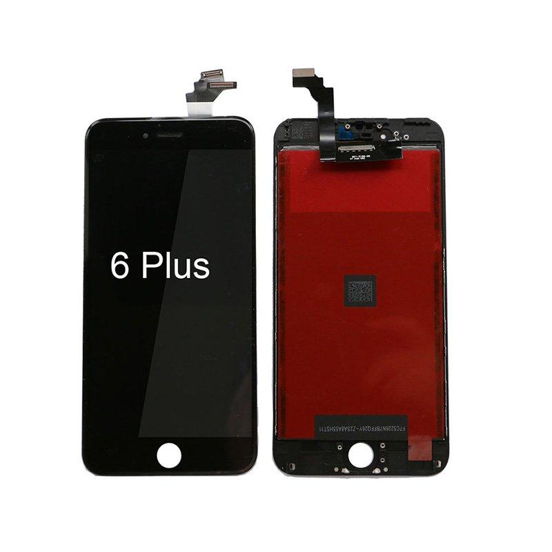 High Quality Grade Aaa LCD Touch Screen For Black Color Iphone 6 Plus 6+ 5.5 Inch LCD