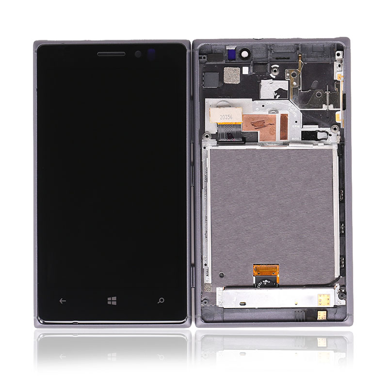 SQ Trade  4.5 inch For Nokia Lumia N925 LCD Display Touch Screen Digitizer Assembly With Frame Replacement Parts for Nokia LCD image13