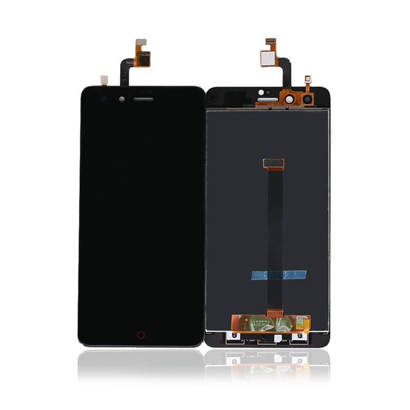 100% High Quality Black/White For ZTE For Nubia Z11 Mini TD-LTE NX529J LCD Display + Touch Screen Digitizer Assembly