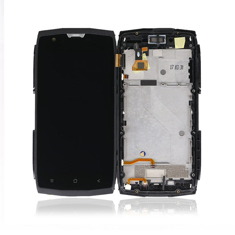 AAA quality LCD For Blackview BV7000 LCD Display Touch Screen Digitizer With Frame Assembly Replacement For Blackview BV 7000