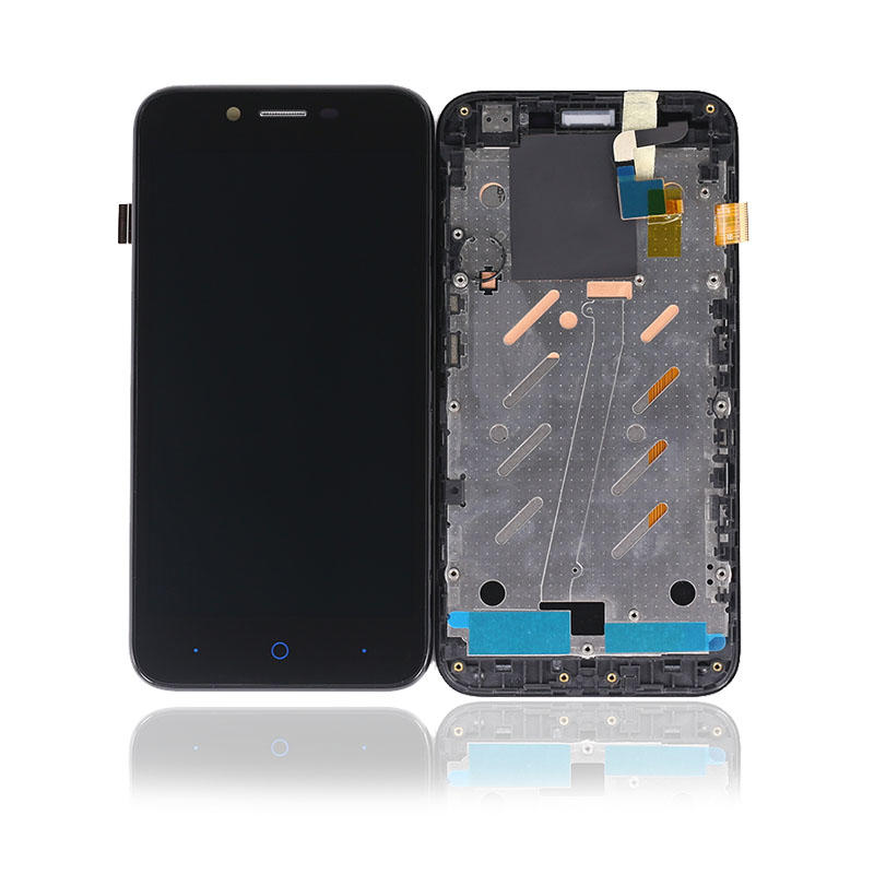 For ZTE Blade A460 LCD Display Touch Screen Digitizer With Frame For Phone Parts Blade L4 LCD 5''
