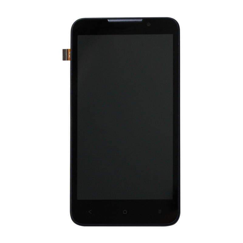 100% Test Blue For HTC Desire 516 LCD Display Full Touch Screen Digitizer Panel Glass Sensor With Frame