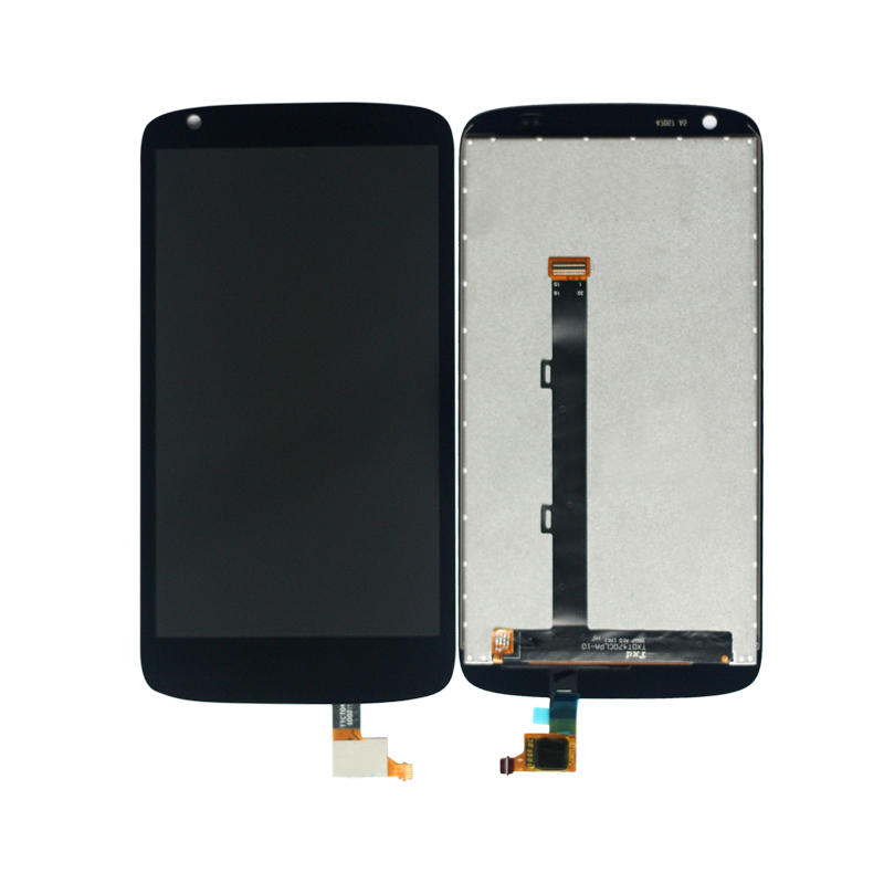 100% Test Black For HTC Desire 526 526G Full Touch Screen Digitizer Panel Glass Sensor + LCD Display Monitor Module Assembly