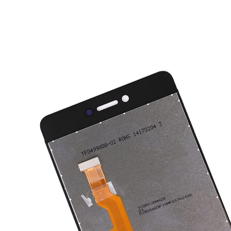 5.0 inch Display For Gionee F100 LCD+Touch Screen Digitizer Assembly Without Frame White