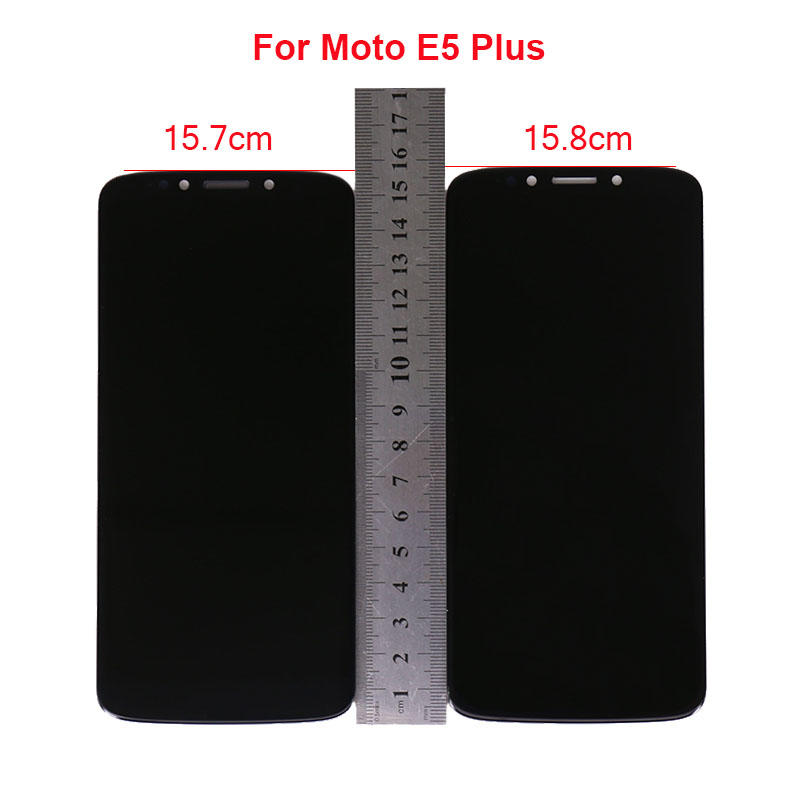 LCD Display With Touch Screen Digitizer Assembly For Motorola MOTO E5 Plus  Moto E Plus 5th Gen Moto XT1924 LCD