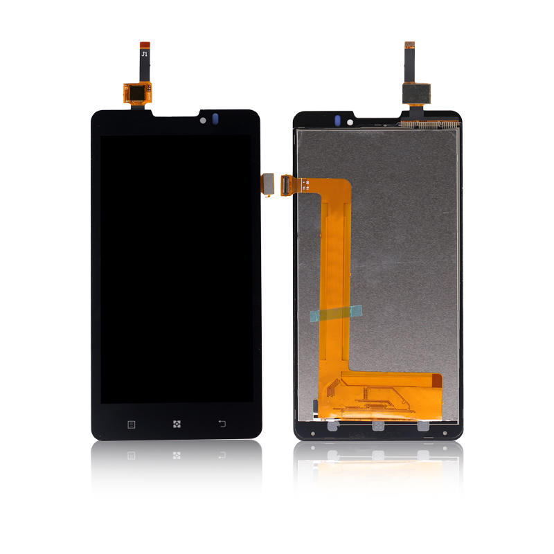 Original 5.0 Inch Display LCD Touch Screen Digitizer Assembly For LENOVO P780 LCD Replace
