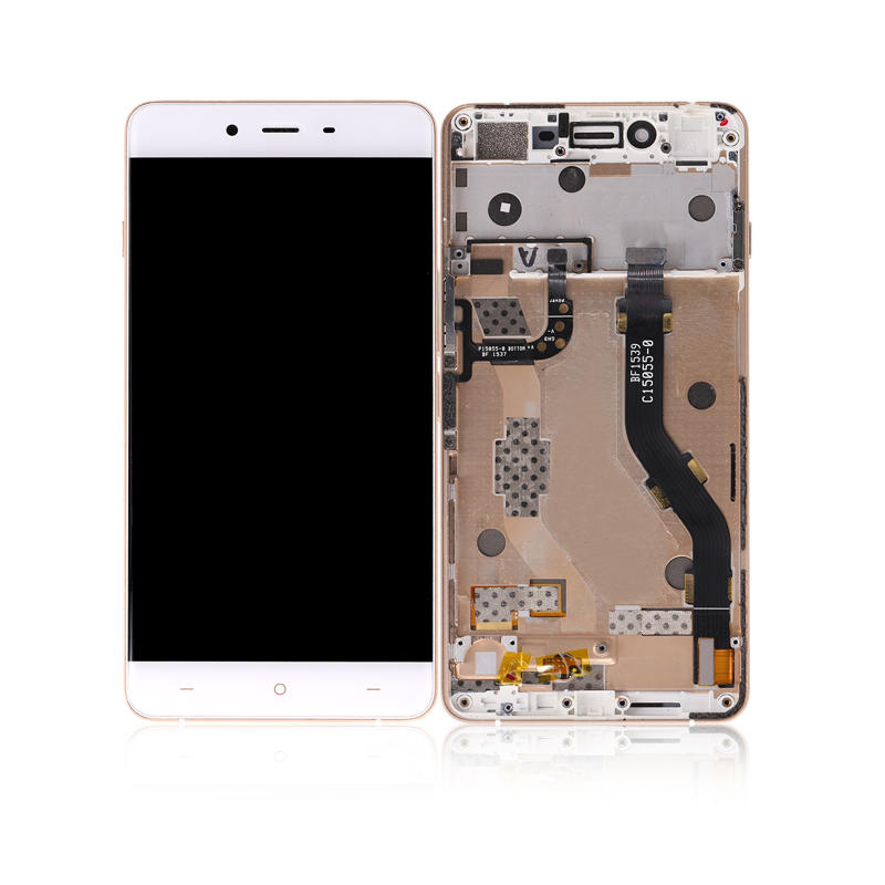 LCD Display Touch Screen Digitizer Glass Panel With Frame For Oneplus X E1003