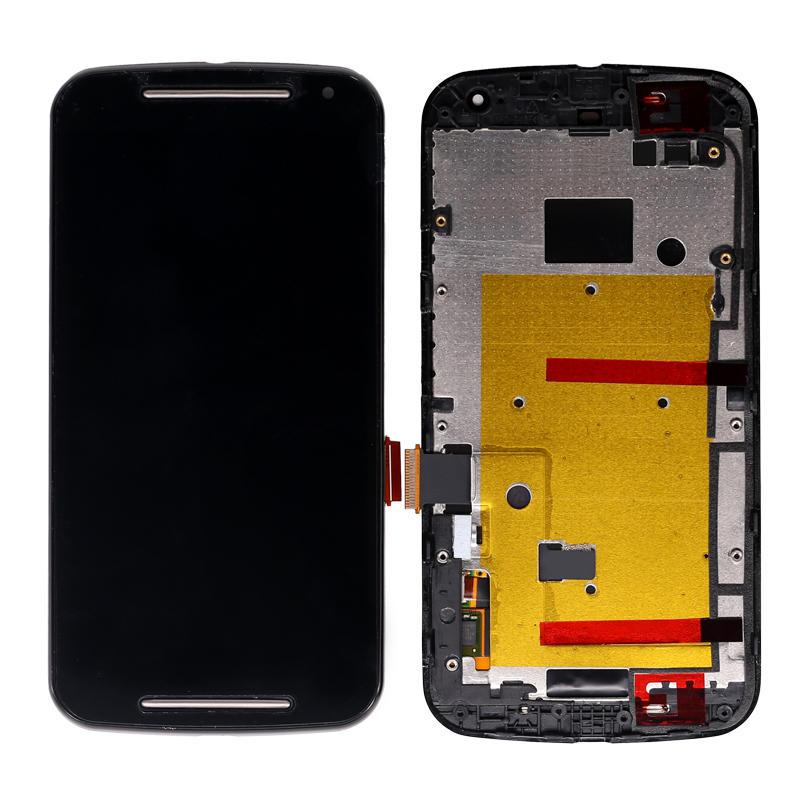 LCD Display Touch Screen Digitizer+ Frame Assembly For Motorola For Moto G2 G+1 XT1063 XT1064 XT1068 XT1069 XT1072
