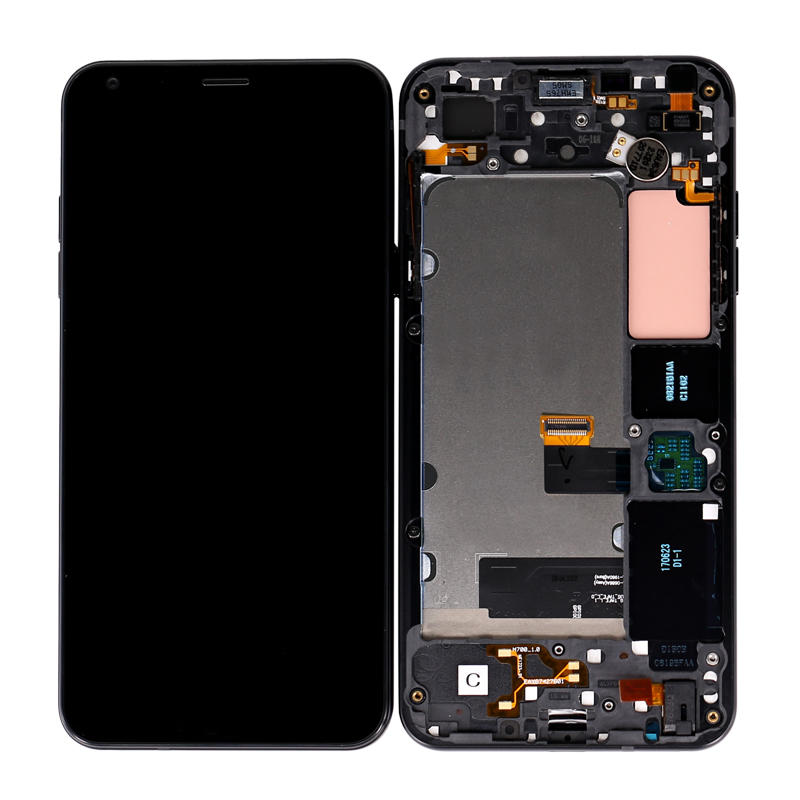 LCD Display Touch Screen Digitizer Assembly with Frame For LG Q6 Q6+ M700 M700A US700 M700H M703 M700Y