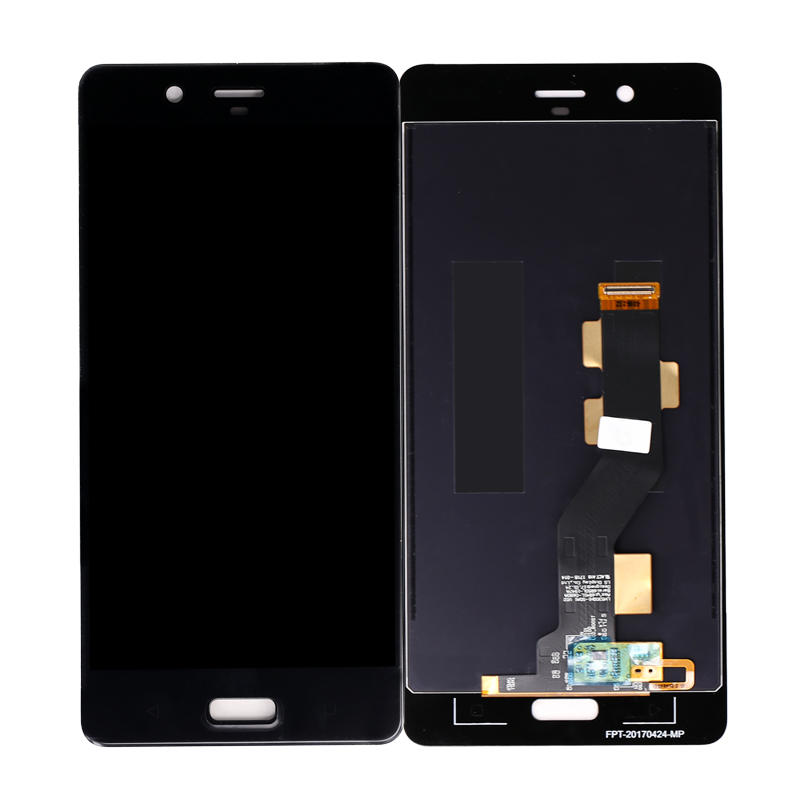LCD Display with Touch Screen Digitizer Assembly Replacement For Nokia 8
