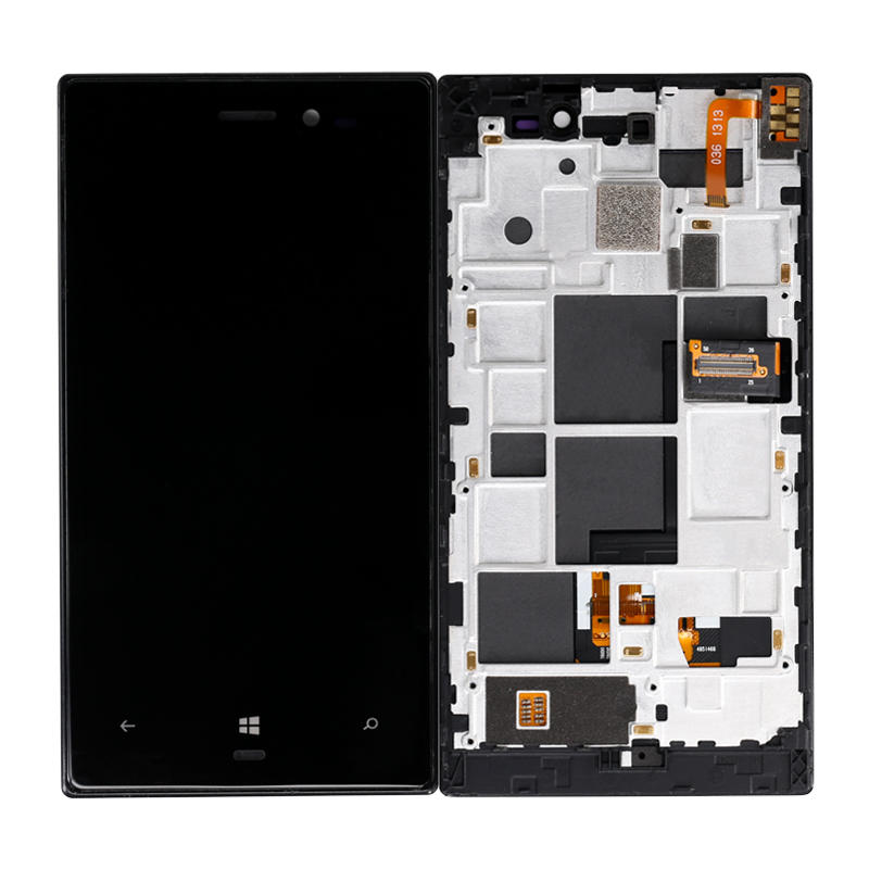 LCD Display Touch Screen Digitizer Assembly With Frame For Nokia Lumia 928