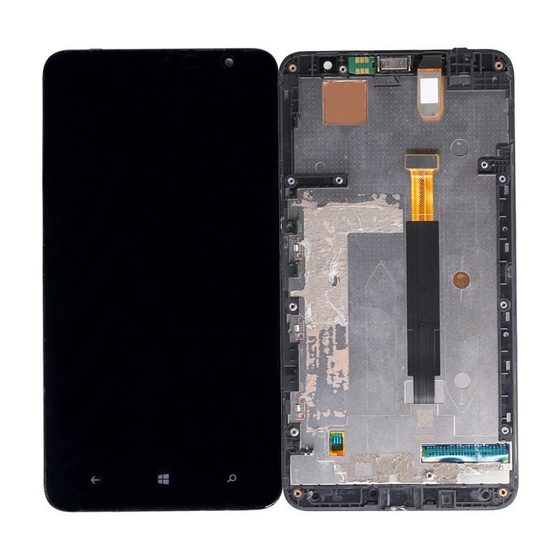 LCD Display With Touch Screen Digitizer + Frame Replacement For NOKIA Lumia 1320