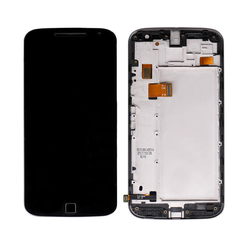 LCD Display + Touch Screen Digitizer With Frame For Motorola For Moto G4 Plus