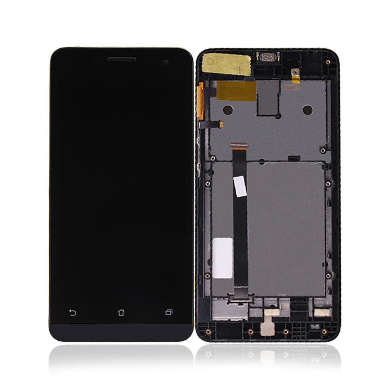LCD Display Panel Touch Screen Digitizer Glass Assembly With Frame For Asus Zenfone 5 T00J A500KL A500CG A501CG