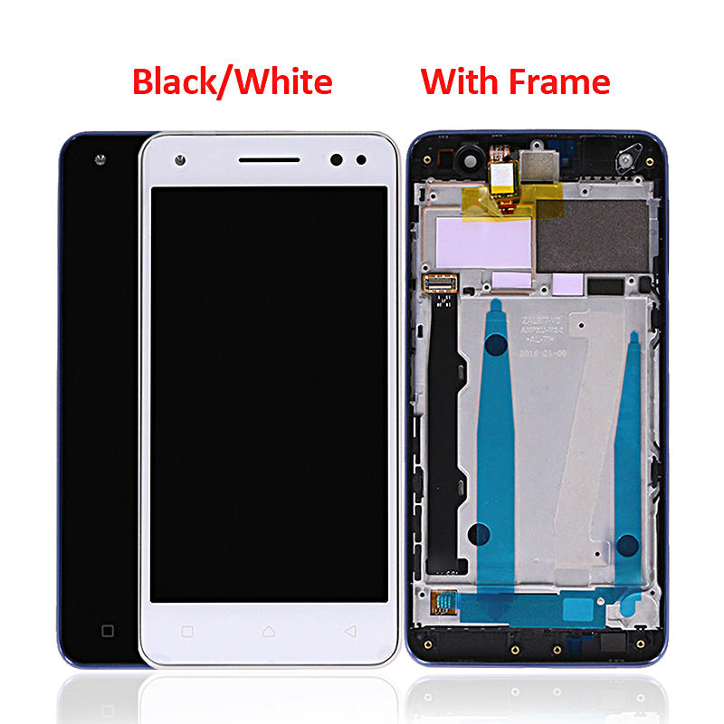 Display LCD Touch Screen Digitizer With Frame Replacement Parts For Lenovo Vibe S1 LITE S1LA40