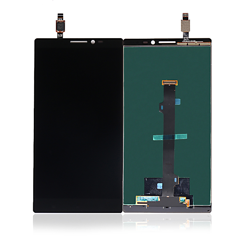 Black Color : Black LCD Screen Mobile Phone and Digitizer Full Assembly with Frame for Lenovo Vibe Z2 Pro K920