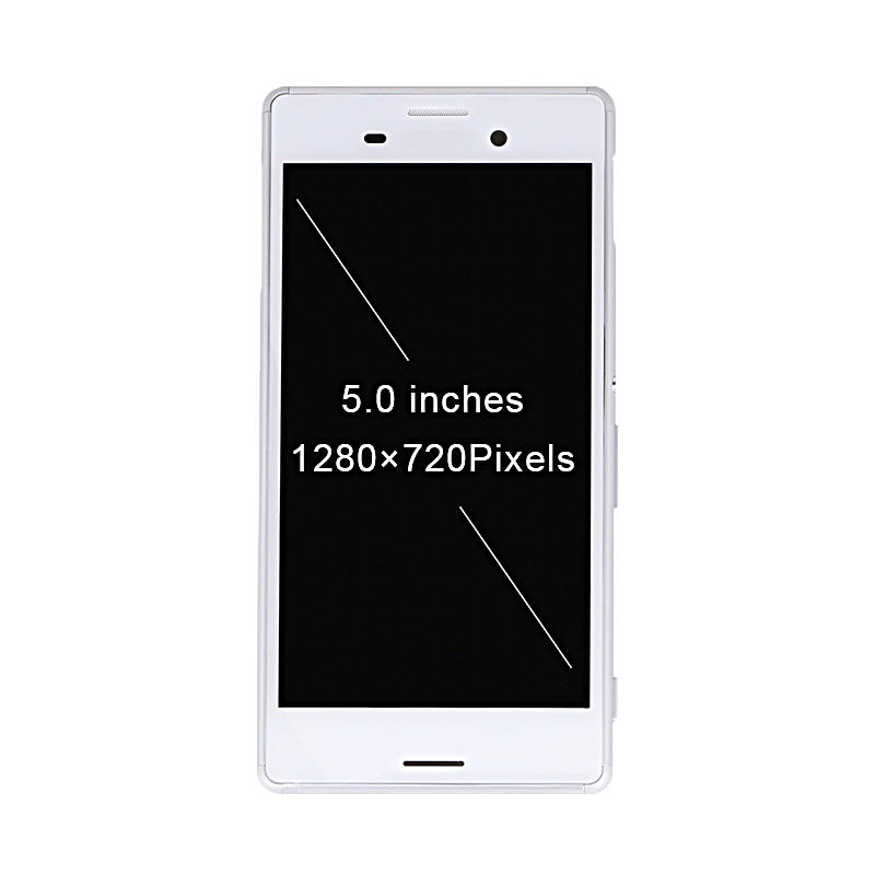 LCD Display Touch Screen Digitizer Assembly with Frame For Sony For Xperia M4 Aqua E2303 E2306 E2353 E2333