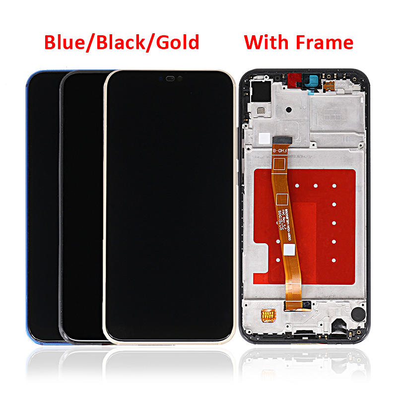LCD Display With Touch Screen Digitizer With Frame For HUAWEI P20 Lite ANE-LX1 ANE-LX3 Nova 3E