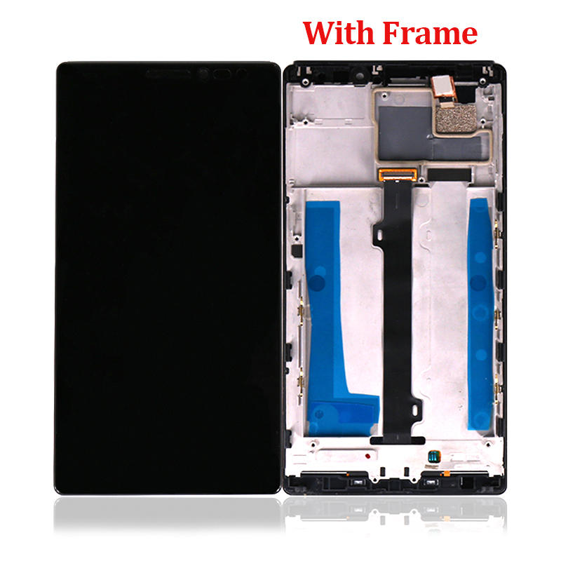 LCD Screen and Digitizer Full Assembly with Frame Replacement Repair Parts For Lenovo Vibe Z2 Pro K920