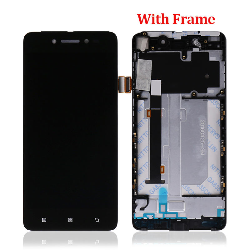 LCD Display Touch Screen Digitizer Assembly With Frame For Lenovo S90 S90-T S90-U S90-A