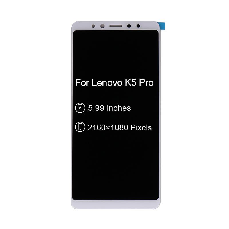 LCD Display Touch Screen Digitizer Glass Panel Assembly Sensor Pantalla For Lenovo K5 Pro L38041