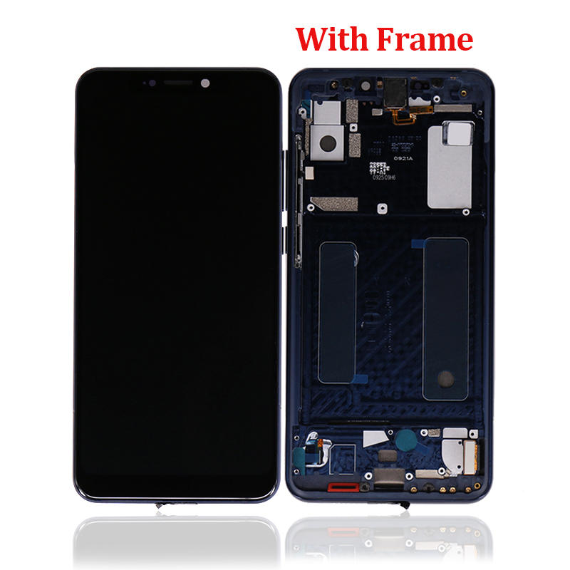Full LCD Display+Touch Screen Digitizer With Frame Assembly Parts For ZTE Axon 9 Pro