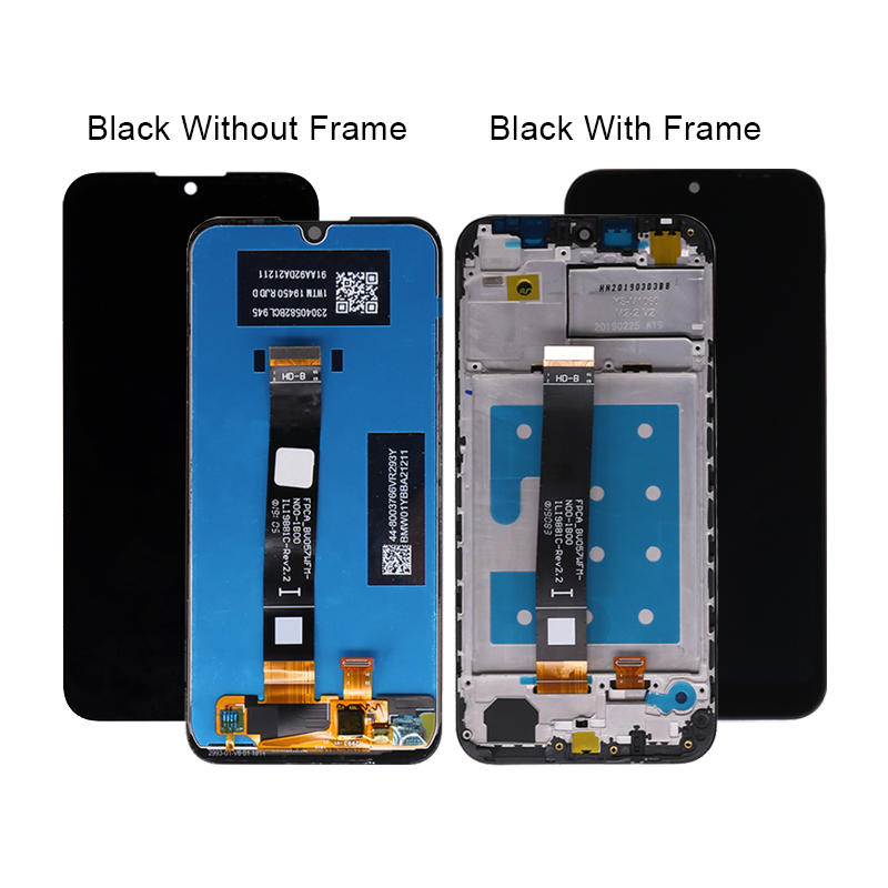 Mobile Parts LCD With Touch Screen Display For Huawei Y5 2019 LCD Digitizer Assembly + Frame For Huawei Honor 8s