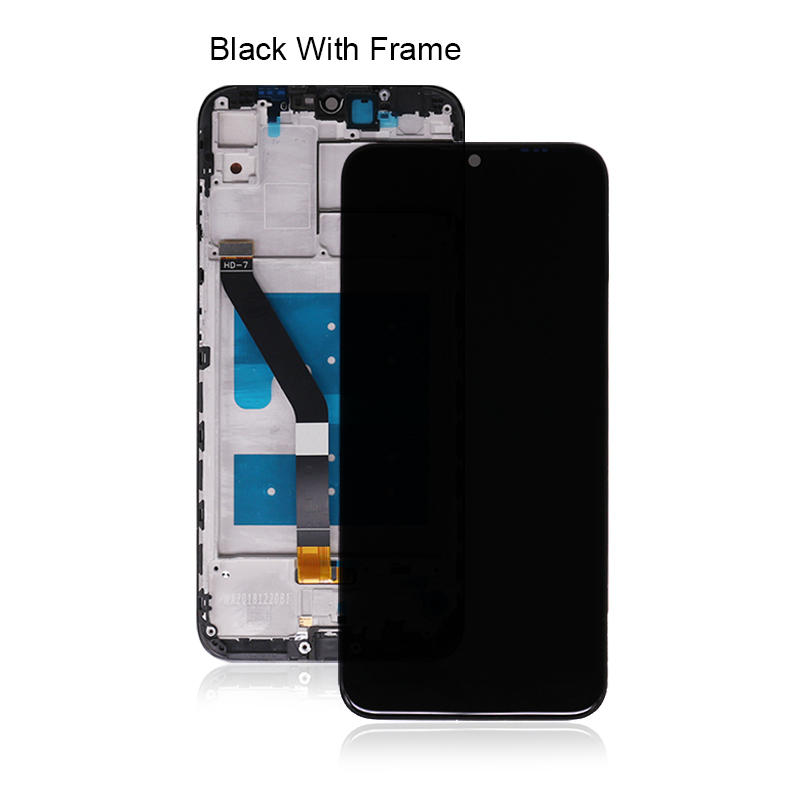 Mobile Phone Parts LCD With Touch Screen Digitizer Assembly For Huawei Y6 2019 For Huawei Honor 8A LCD Display+Frame