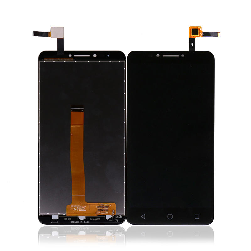 Replacement LCD With Touch Screen Display Digitizer Assembly Black White For Alcatel 5098 LCD