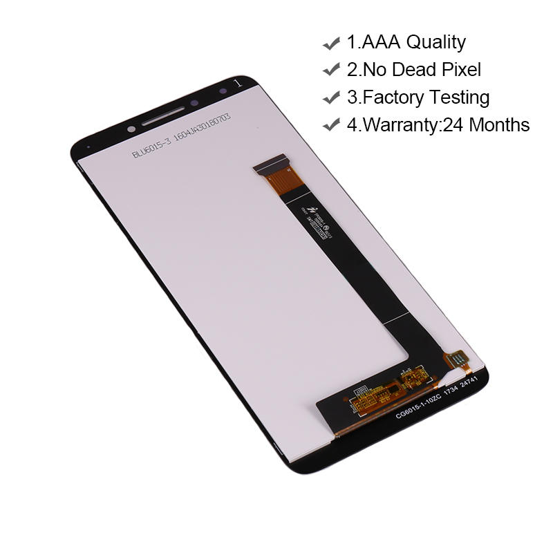 Replacement LCD Display With Touch Screen Digitizer Assembly For Alcatel 7 6062