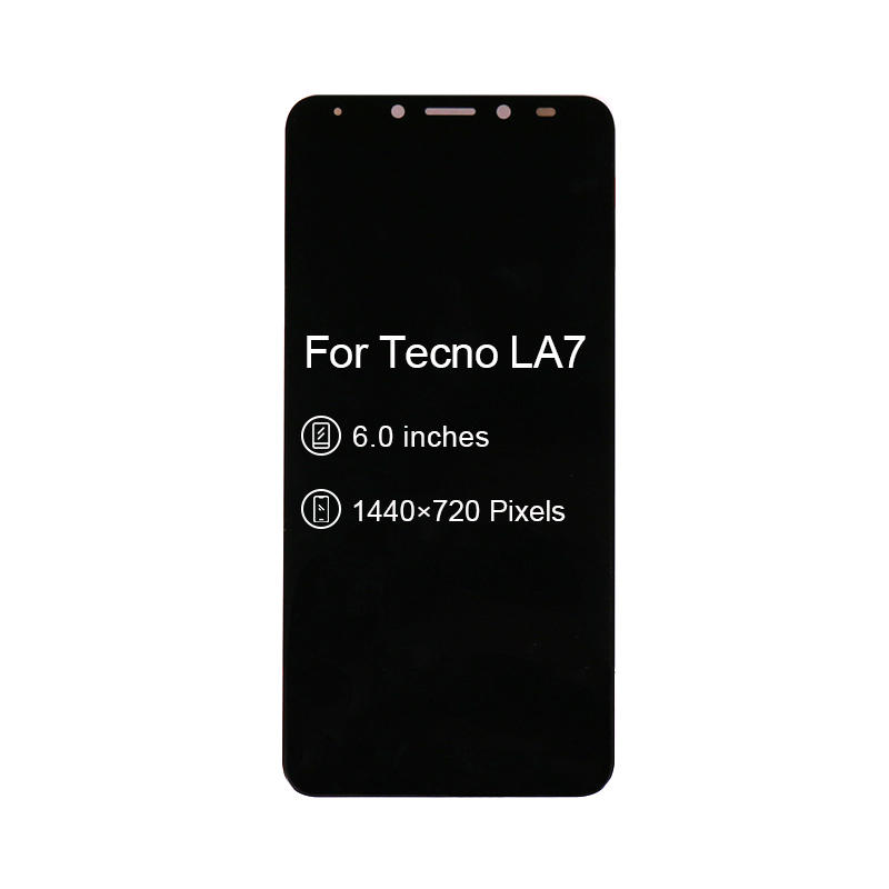 LCD Replacement Display With Touch Screen Digitizer Assembly For Tecno LA7