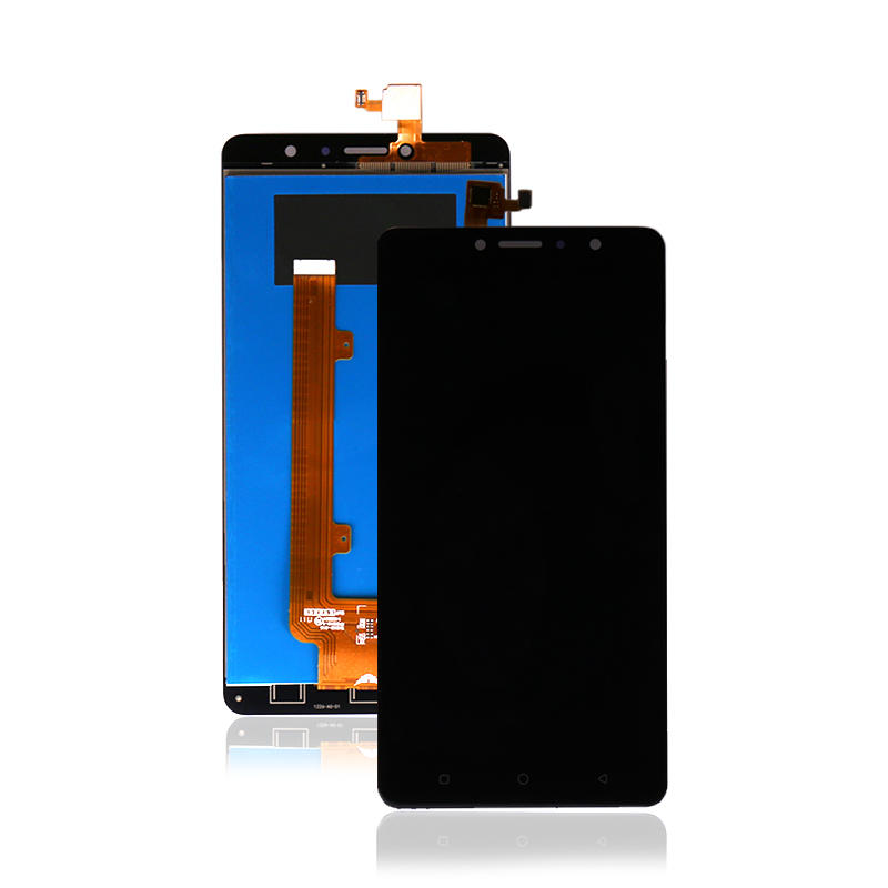 High Quality Black LCD Display With Touch Screen Digitizer For Tecno L9 Plus