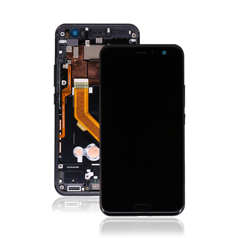 LCD Display Touch Screen Digitizer Assembly with Frame with Sensor Flex For HTC U11 U-3w U-1w U-3u