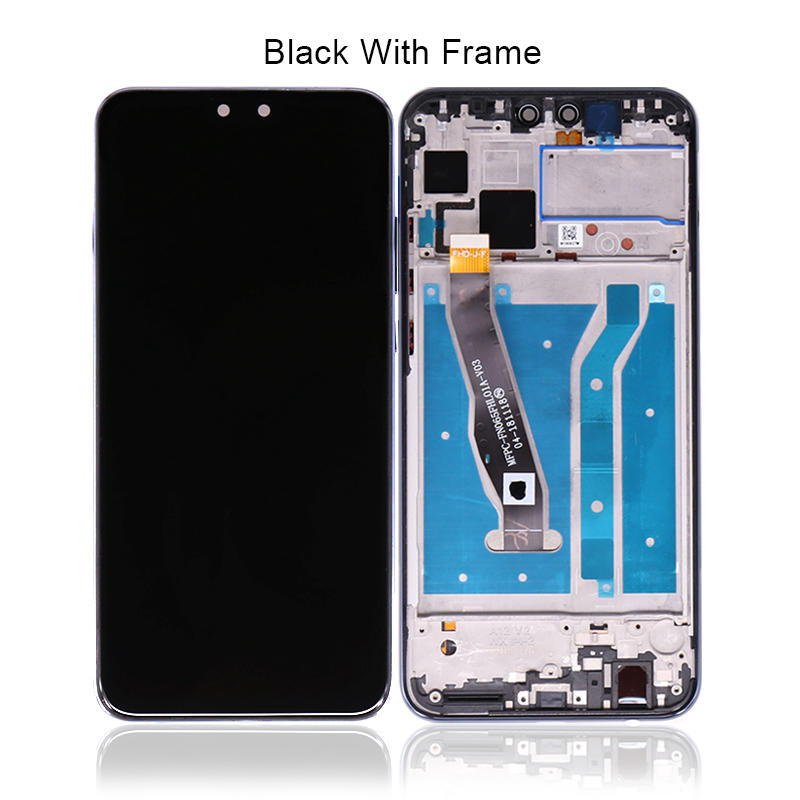 High Quality LCD Display With Touch Screen Digitizer + Frame For Huawei Y9 2019