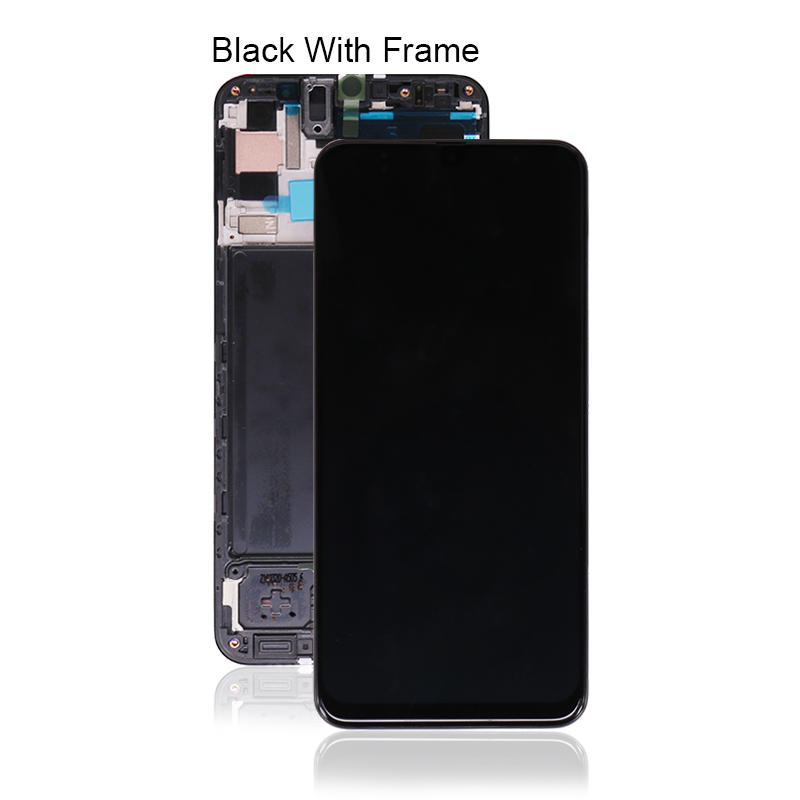 Original LCD Touch Screen Display Digitizer With Frame For Samsung For Galaxy A50 A505 A505F LCD