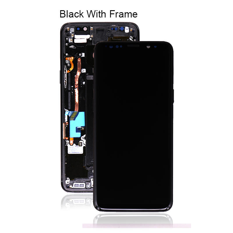 100% Original LCD Display With Touch Screen Digitizer With Frame For Samsung For Galaxy S9 G9600