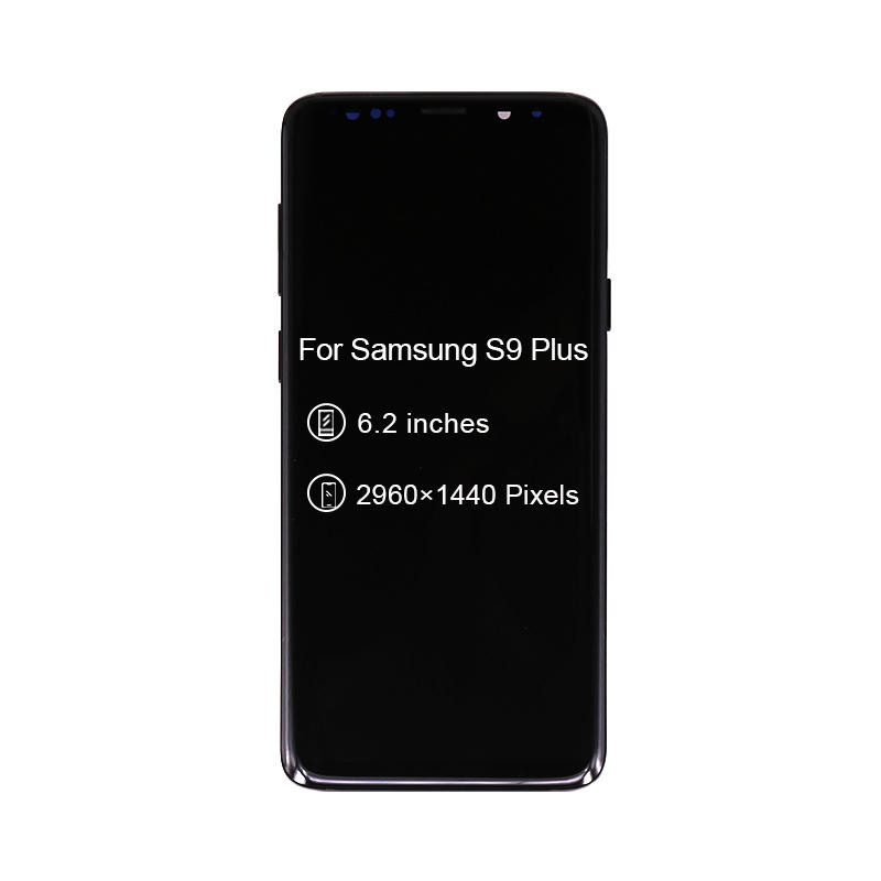 LCD Display Digitizer With Frame Touch Screen Digitizer For Samsung For Galaxy S9+ S9 Plus G965