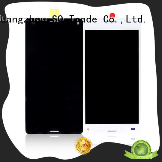 SQ Trade touch screen digitizer sony z1 display high safety For Xperia XZ2 Premium