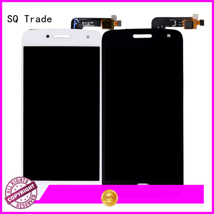SQ Trade Brand digitizer parts blackwhite cell phone lcd