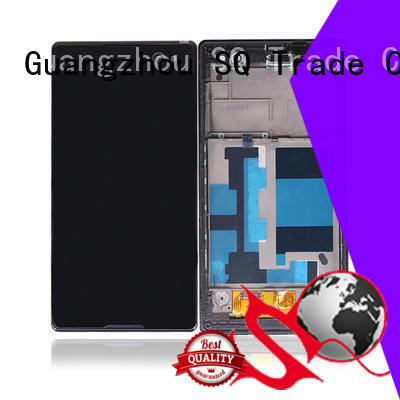 SQ Trade Brand gold screen display sony xperia z3 part supplier